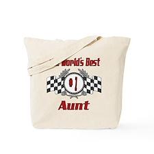 Racing Aunt Tote Bag