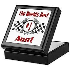 Racing Aunt Keepsake Box