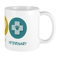 Peace Love Veterinary Mug