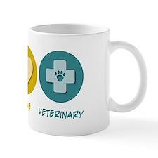 Peace Love Veterinary Mug