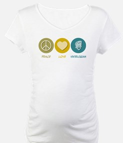 Peace Love Ventriloquism Shirt