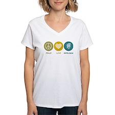 Peace Love Ventriloquism Shirt