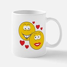Smiley Faces in Love Mug