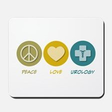 Peace Love Urology Mousepad