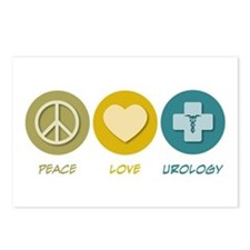 Peace Love Urology Postcards (Package of 8)