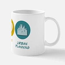 Peace Love Urban Planning Mug