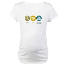Peace Love Urban Planning Shirt