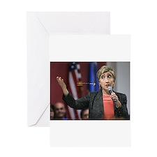 Hillary Clinton Greeting Card