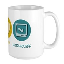 Peace Love Ultrasounds Mug