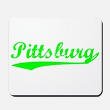 Vintage Pittsburg (Green) Mousepad