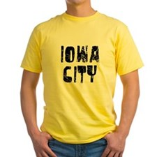 Iowa City Faded (Black) T