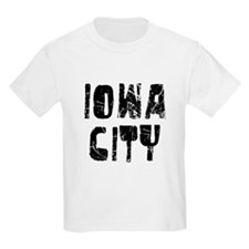 Iowa City Faded (Black) T-Shirt
