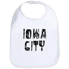 Iowa City Faded (Black) Bib