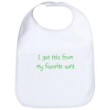 Favorite Aunt Bib