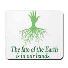 earth is in our hands Mousepad