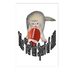 Football Ferret Postcards (Package of 8)