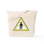 Man at work Tote Bag