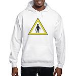 Man at work Hooded Sweatshirt