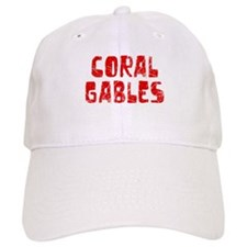 Coral Gables Faded (Red) Baseball Cap