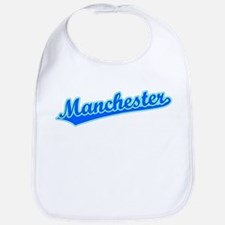 Retro Manchester (Blue) Bib
