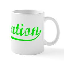 Vintage Plantation (Green) Mug