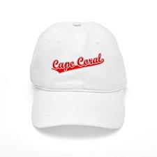 Retro Baseball Cape Coral (Red) Baseball Cap