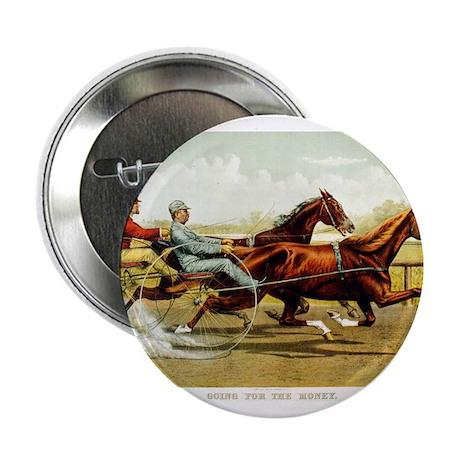 Antique Horse Racing Button