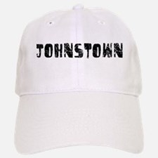Johnstown Faded (Black) Baseball Baseball Cap