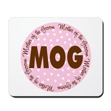 Polka Dot Groom's Mother Mousepad