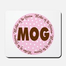 Polka Dot Groom's Mother Mousepad