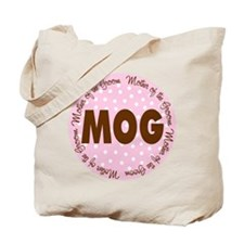 Polka Dot Groom's Mother Tote Bag
