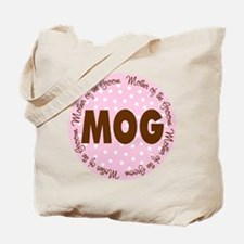 Polka Dot Groom's Mother Tote Bag