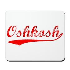 Vintage Oshkosh (Red) Mousepad