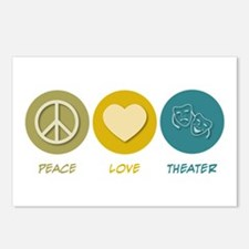 Peace Love Theater Postcards (Package of 8)