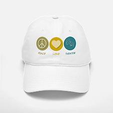 Peace Love Theater Baseball Baseball Cap