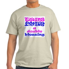 TWINS A DOUBLE BLESSING T-Shirt