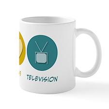 Peace Love Television Mug
