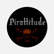 "Pirate Attitude Pirattitude 3.5"" Button (100 pack)"