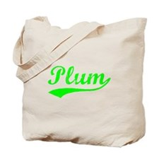Vintage Plum (Green) Tote Bag