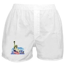 Statue of Liberty Boxer Shorts