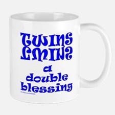 TWINS A DOUBLE BLESSING Mug