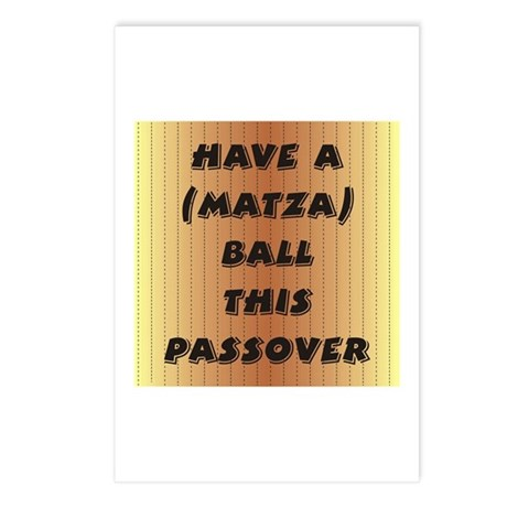 """Matza"" Ball Postcards (Package of 8)"
