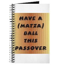 """""""Matza"""" Ball Journal"""