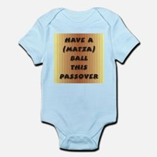 """Matza"" Ball Infant Bodysuit"