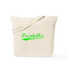 Vintage Pocatello (Green) Tote Bag