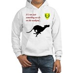 Not just Coursing Hooded Sweatshirt