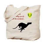 Not just Coursing Tote Bag