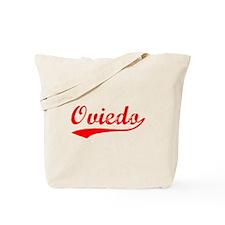 Vintage Oviedo (Red) Tote Bag