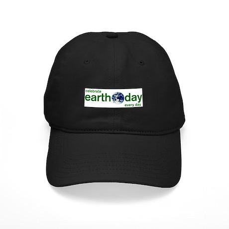 Earth Day Black Cap