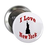 I Love New York Button